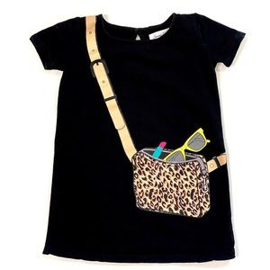 Sovereign Code Animal Print Crossbody Bag Dress 2T